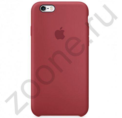 Терракотовый силиконовый чехол для iPhone 6/6S Silicone Case