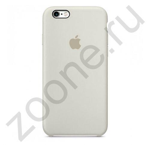 Светло-бежевый силиконовый чехол для iPhone 6/6S Silicone Case