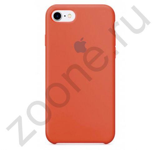 Морковный силиконовый чехол для iPhone SE/8/7 Silicone Case