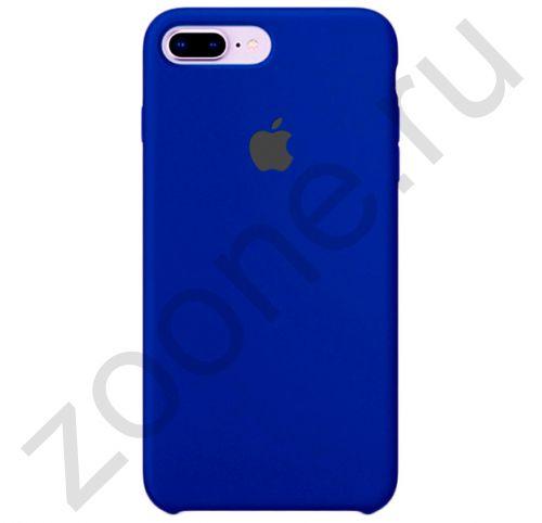 Силиконовый чехол цвета Индиго для iPhone 7/8 Plus Silicone Case