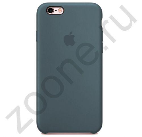 Силиконовый чехол цвета полыни для iPhone 6/6S Silicone Case