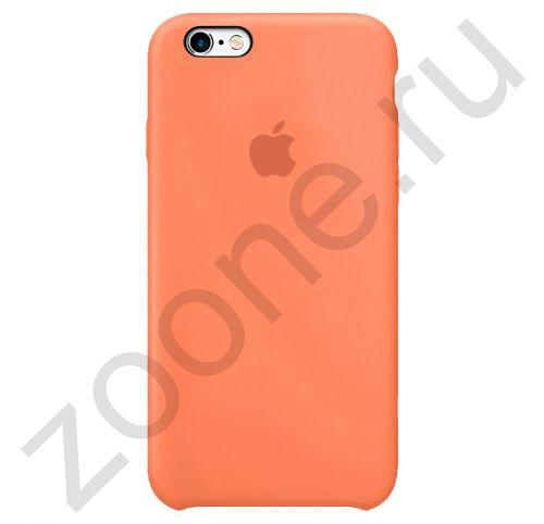 Лососевый силиконовый чехол для iPhone 6/6S Silicone Case