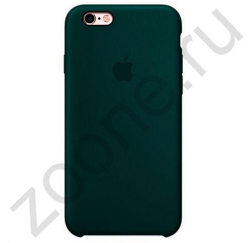 Силиконовый чехол цвета дымчатой сосны для iPhone 6/6S Silicone Case
