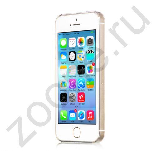 Прозрачный силиконовый чехол для iPhone 5/5s Hoco Light