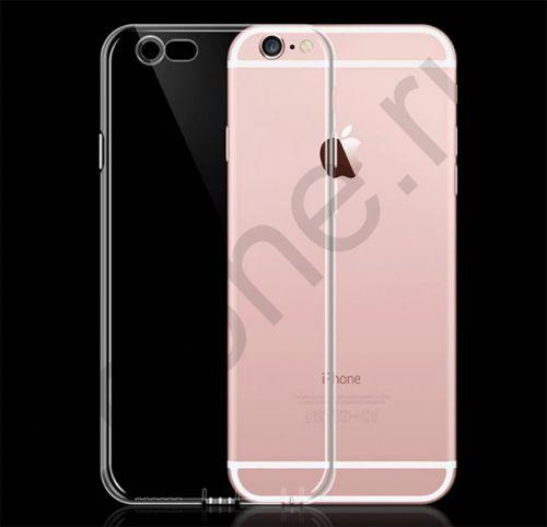 Прозрачный силиконовый чехол для iPhone 6/6S