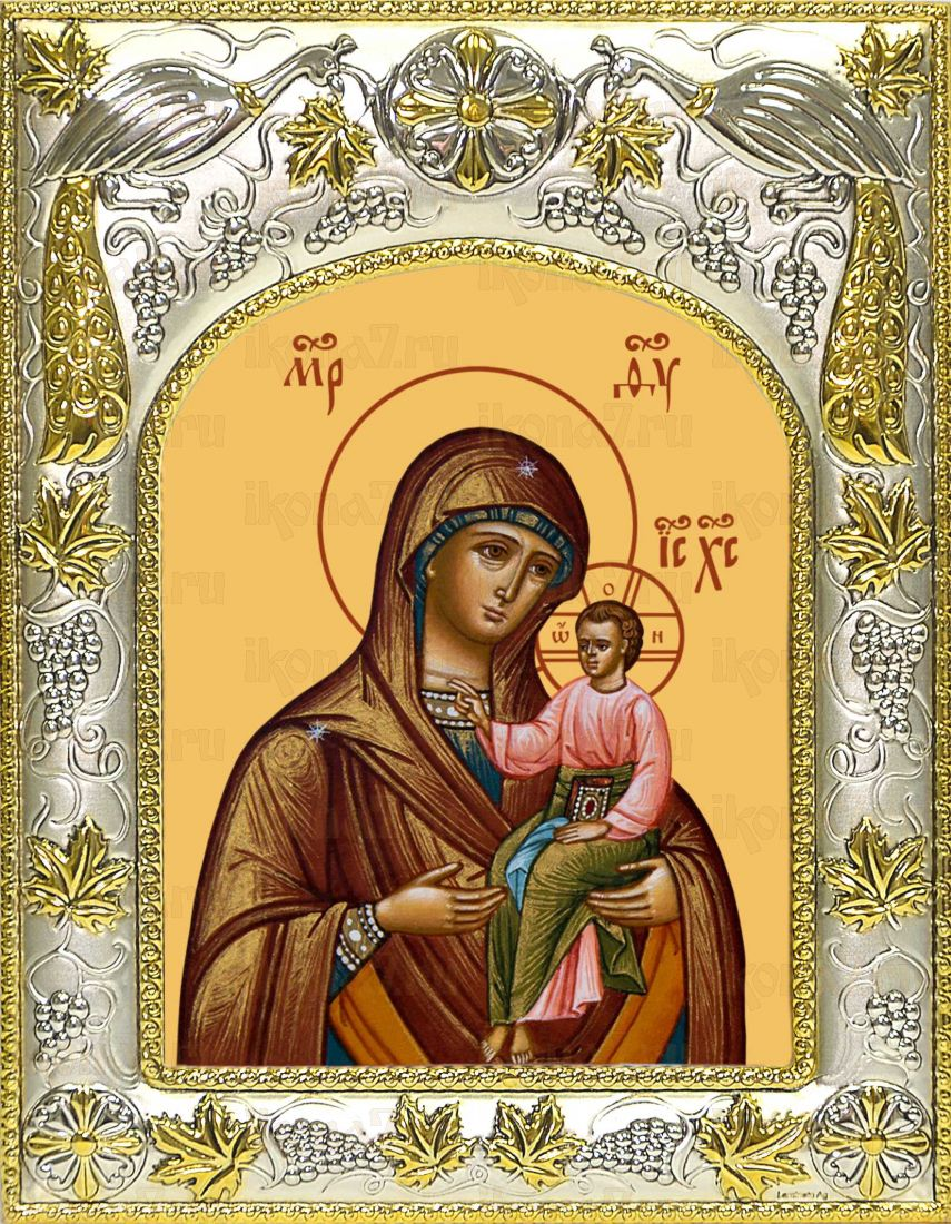 Далматская икона Богородицы икона Божией матери (14х18)