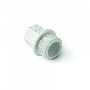 Заглушка полипропиленовая  резьбовая (PP-R)