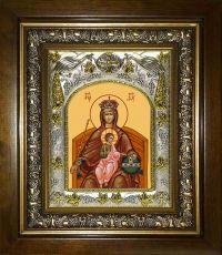 Державная икона Божией матери (14х18)
