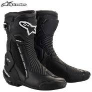 Мотоботы Alpinestars SMX Plus V2, Чёрные