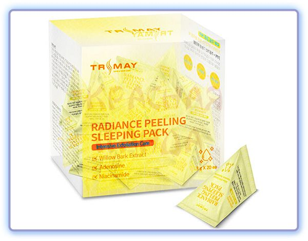 Ночная маска-пилинг для лица Trimay Radiance Peeling Sleeping Pack