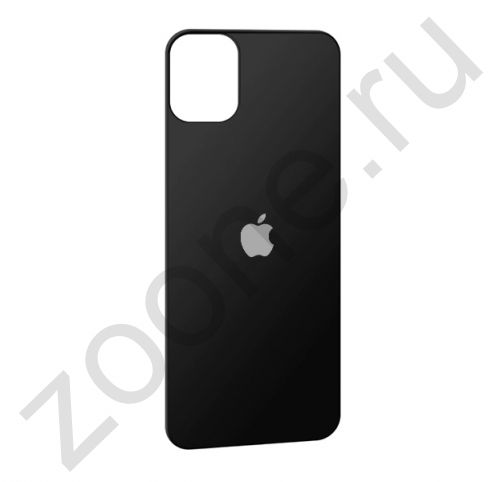 Защитное стекло для iPhone 11 Pro на заднюю крышку черное