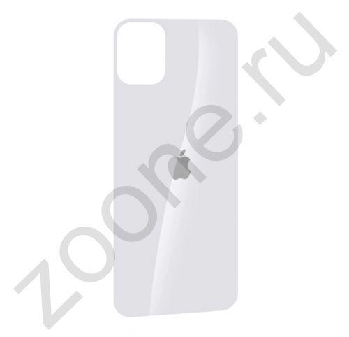Белое защитное стекло для iPhone 11 на заднюю крышку