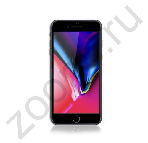 Черное защитное стекло для iPhone SE/8/7 Remax Emperor Series 2,5D Tempered Glass