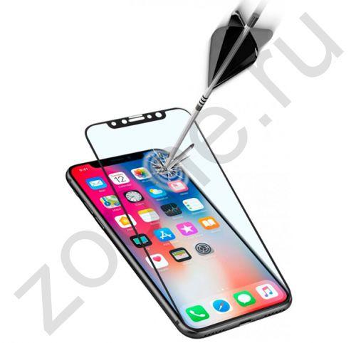 Черное защитное стекло для iPhone XS Max Remax Emperor Series 2,5D Tempered Glass