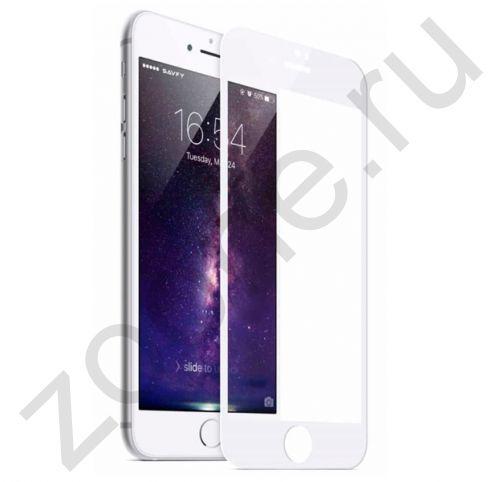 Белое защитное стекло для iPhone 7/8 Plus Artoriz Full Cover 2,5D Tempered Glass