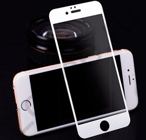 Защитное стекло для iPhone 7/8 Plus Litu Glossy White