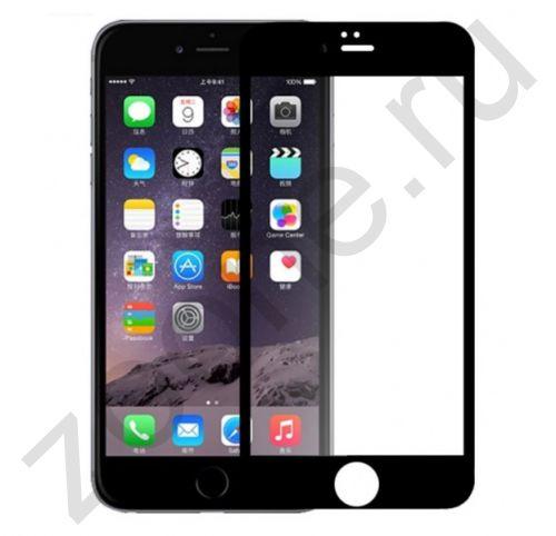 Защитное матовое стекло для iPhone 7/8 Devia Anti-glare Full Screen Glass Black