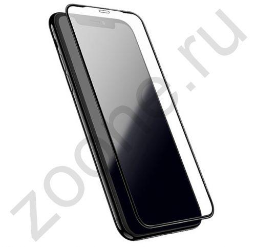Черное защитное стекло для iPhone XR Full Frame 3D Tempered Glass