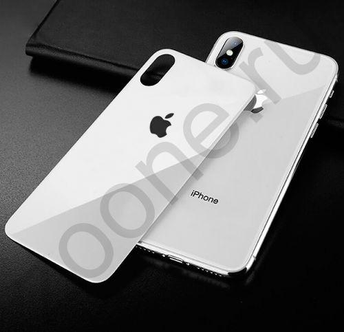 Белое защитное стекло на заднюю крышку для iPhone X/XS Screen Protector