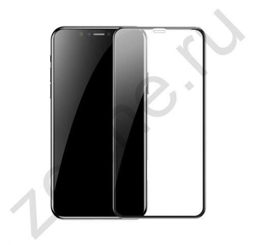 Черное защитное стекло для iPhone XR 3D Full Cover Tempered Glass