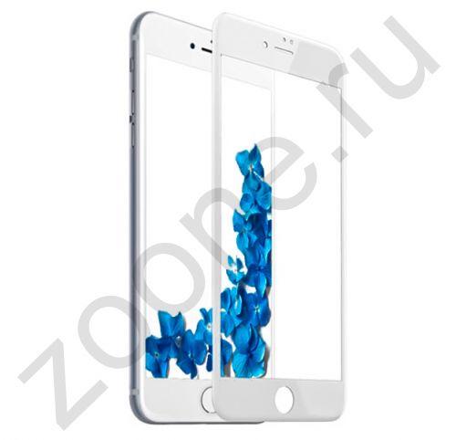 Защитное матовое стекло для iPhone 7/8 Plus Devia Anti-glare Full Screen Glass White
