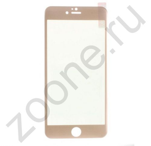 Защитное стекло для iPhone 6/6s Devia Full Screen Chamaigne Gold