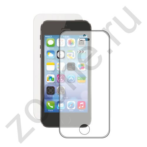 Матовое защитное стекло для iPhone 5/5s/5c Deppa 0.33mm