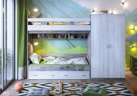 Кровать двухъярусная  Юта 2