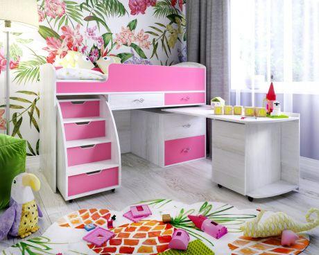 Кровать чердак «Малыш 6»