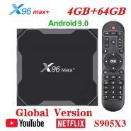 ТВ-приставка Vontar X96 MAX+ 4/64Gb