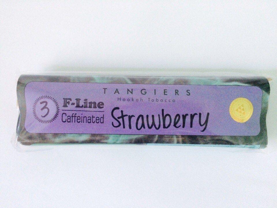 Табак Tangiers F-Line - Strawberry (Клубника, 250 грамм)