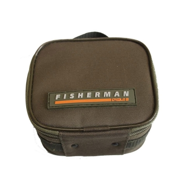 Чехол для рыболовной катушки Fisherman (Фишерман) Ф18 жесткий 12 х 95 х 8