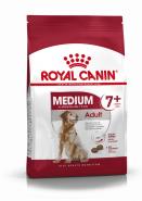 Royal Canin Medium Adult 7+ Корм для собак средних размеров в возрасте от 7 лет (4 кг)