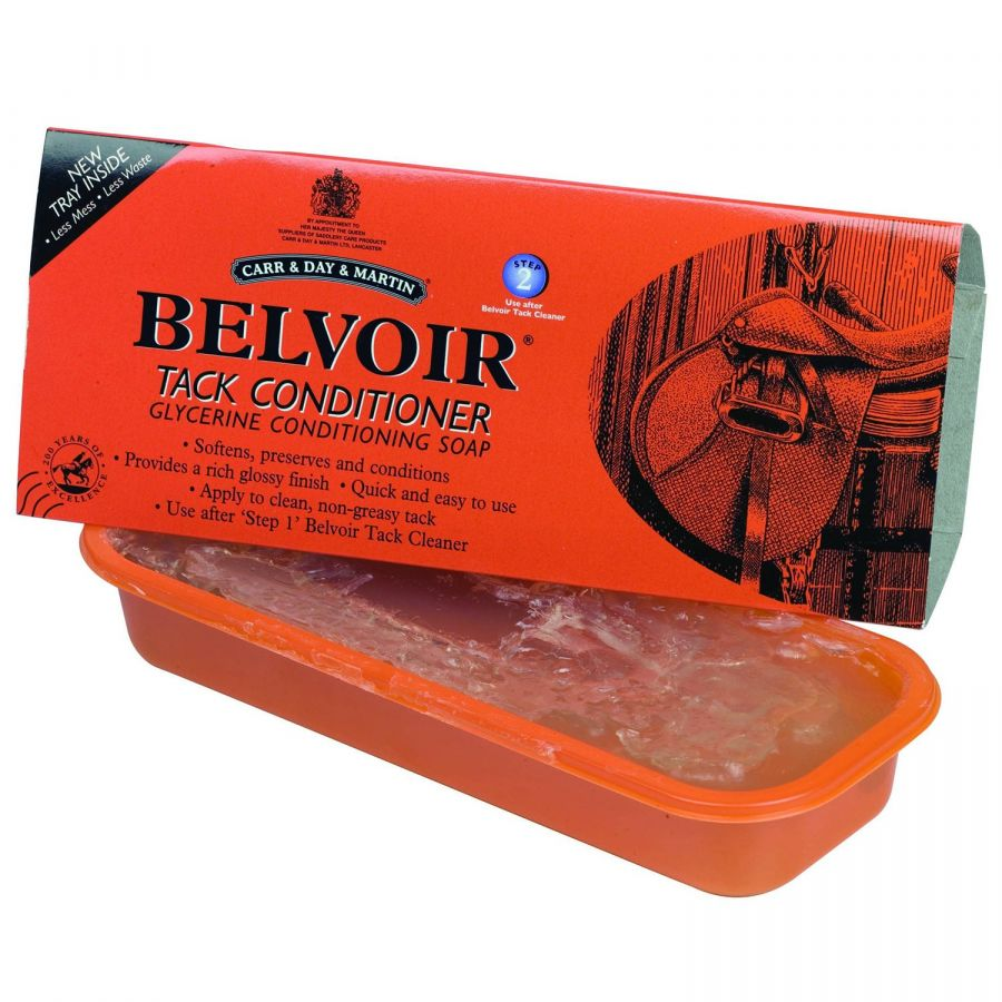 Belvoir Tack Conditioning Soap / Традиционное мыло Belvoir. Carr&Day&Martin.