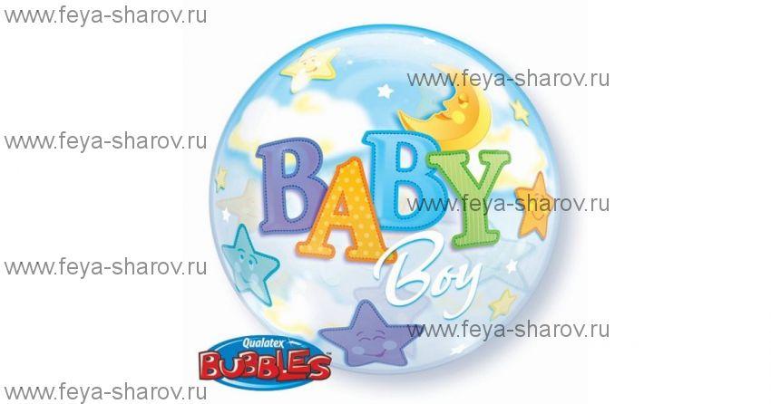 """Шар Bubble 22""""(56 см)"""