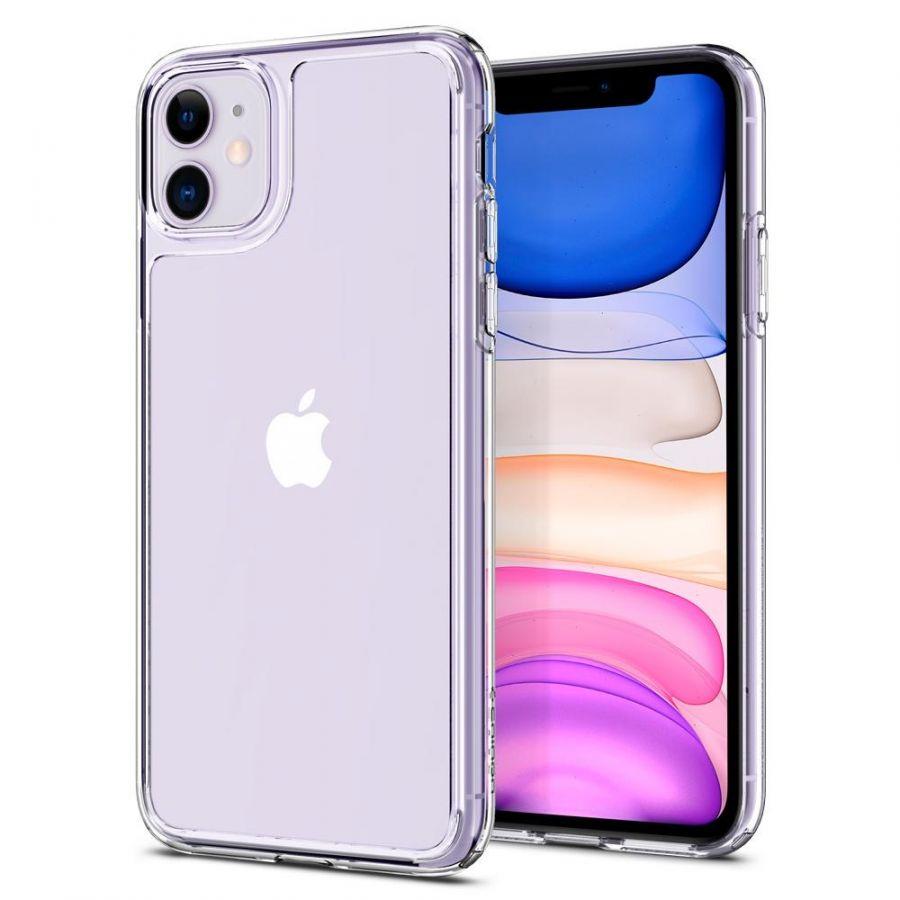 Чехол Spigen Quartz Hybrid для iPhone 11 кристально-прозрачный