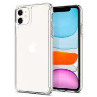 Купить чехол Spigen Quartz Hybrid для iPhone 11 прозрачный чехол для Айфон 11 в Москве в интернет магазине аксессуаров для смартфонов elite-case.ru