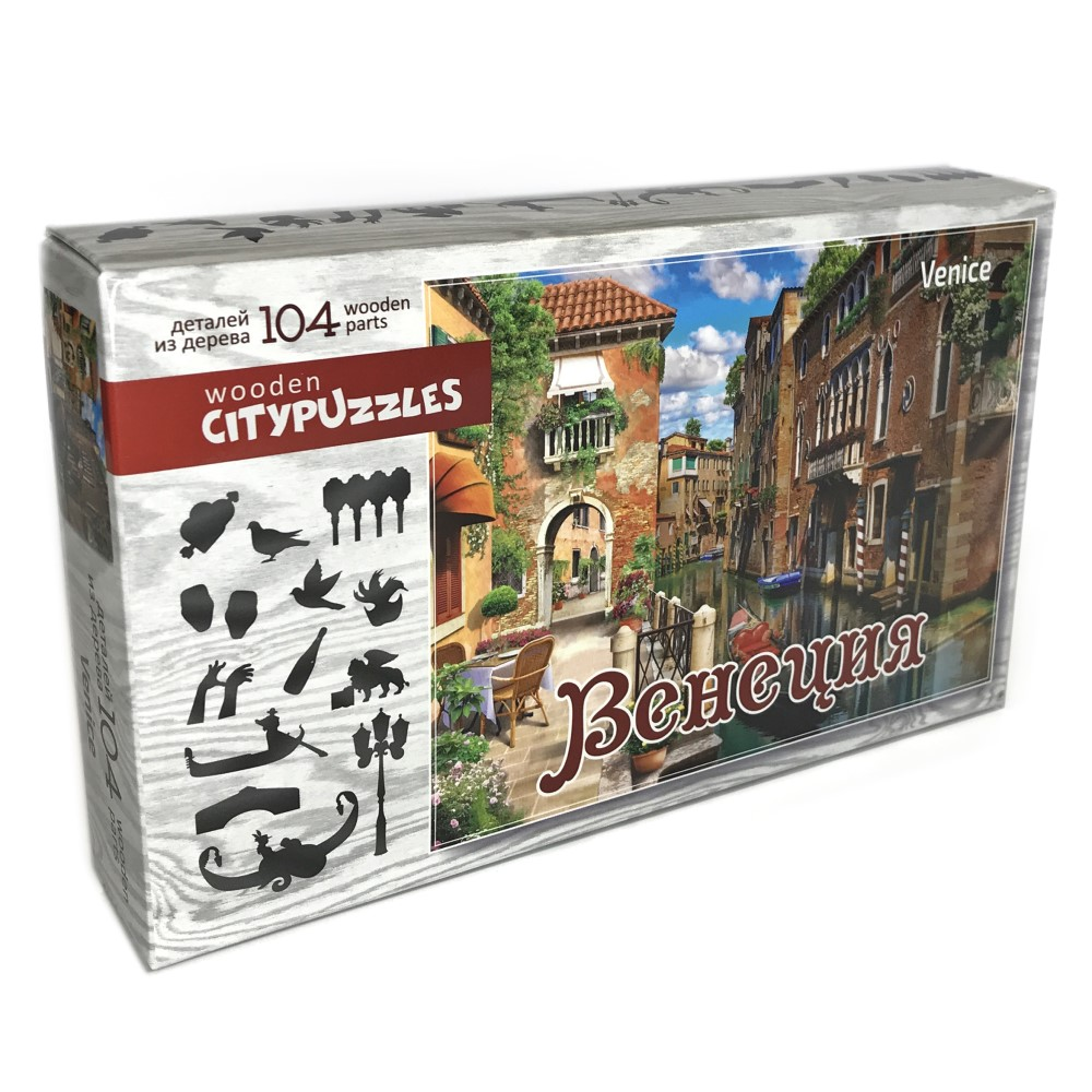 Citypuzzles Венеция, Пазл