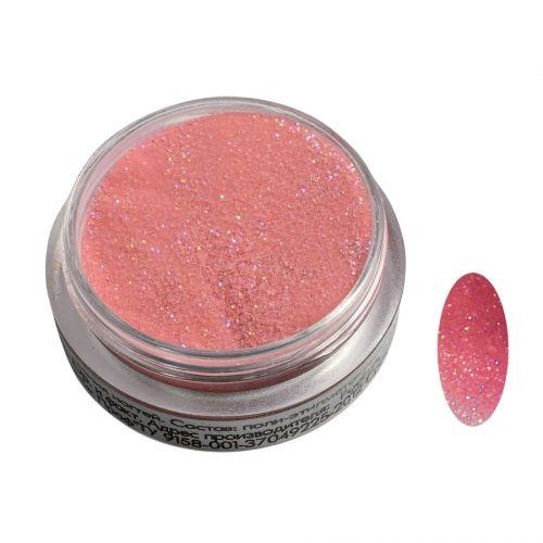 Акриловая пудра цветная №025 (розовая) SOFIPROFI  2 гр