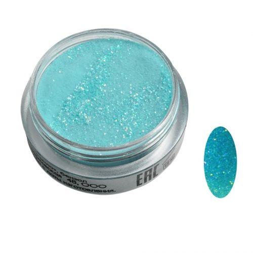 Акриловая пудра цветная №040 (голубая) SOFIPROFI  2 гр
