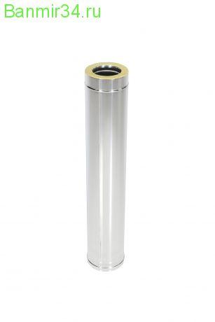 Труба термо1,0 м нерж.0,5мм ф115/200