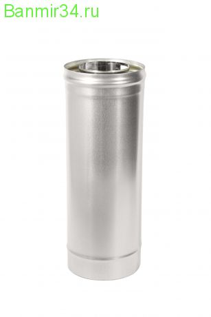 Труба термо 0,5 м нерж.0,5мм +оцин. ф115/200