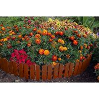 Бордюр Летний сад 16х300 см 7 секций (цвет терракот)