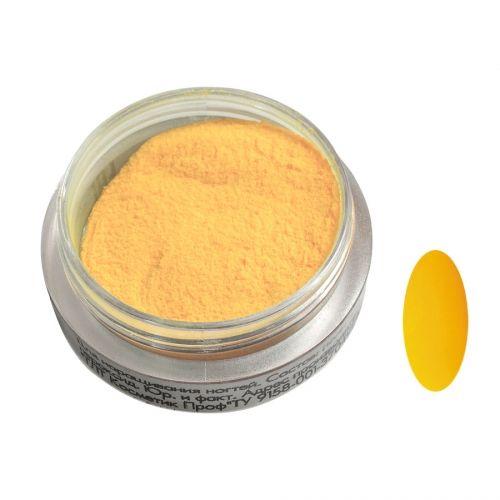 Акриловая пудра цветная №100 (желтая) SOFIPROFI  2 гр