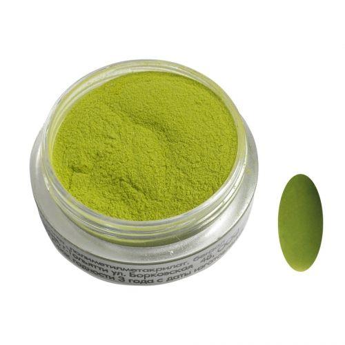 Акриловая пудра цветная №105 (зеленая) SOFIPROFI  2 гр