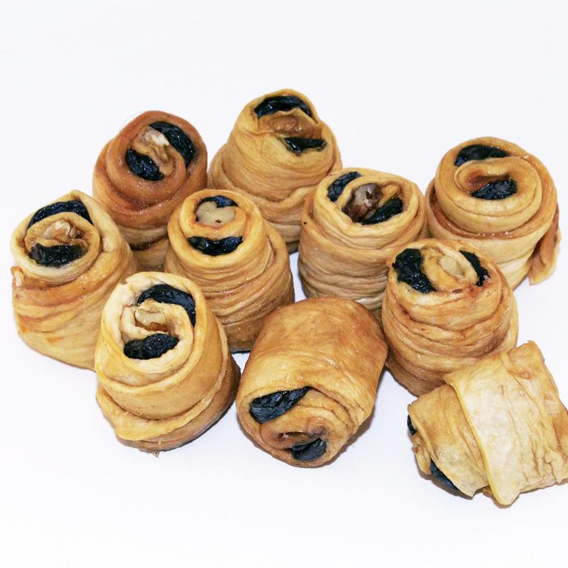 Дыня с изюмом и грецким орехом уп 500 гр