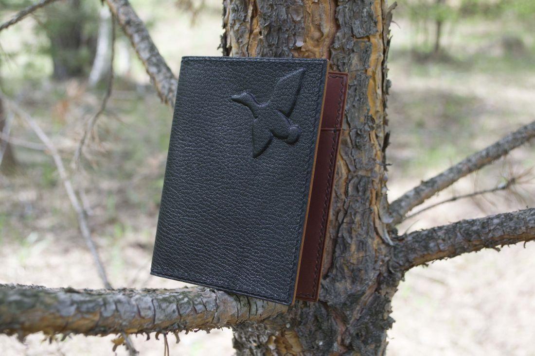 Обложка для документов охотника (докхолдер)