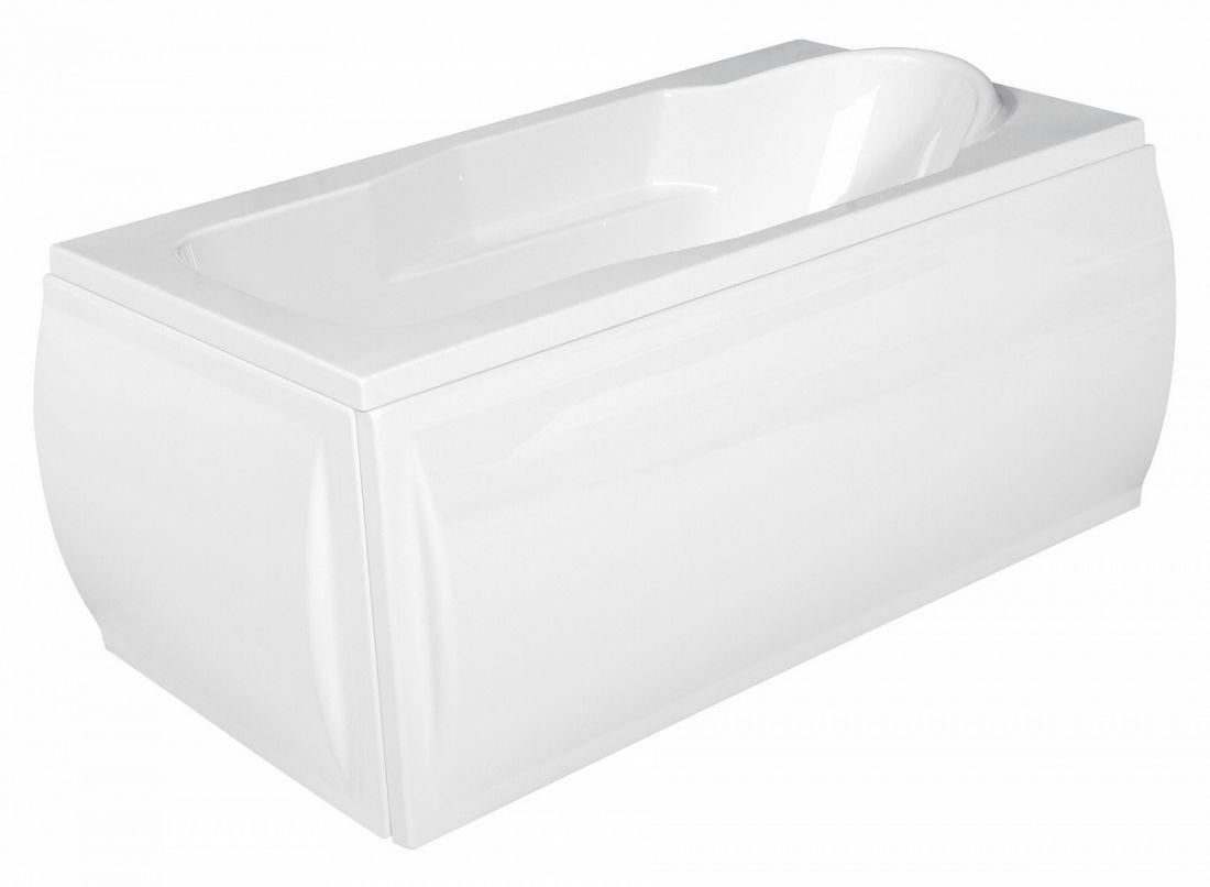 SANTANA 140x70 NEW Ванна прямоуг, ультра белый, Сорт1