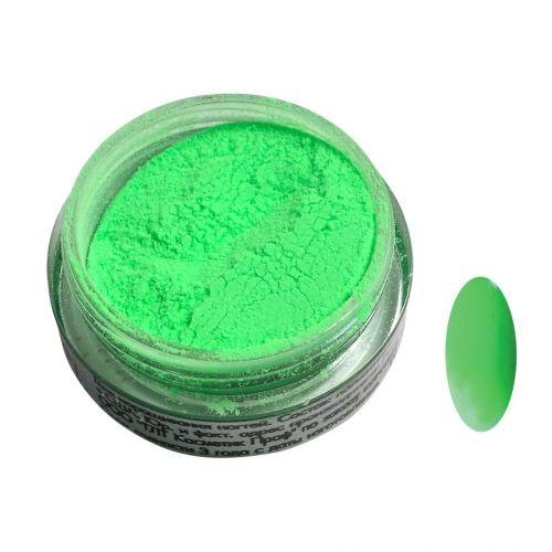 Акриловая пудра цветная №140 (зеленый неон) SOFIPROFI  2 гр