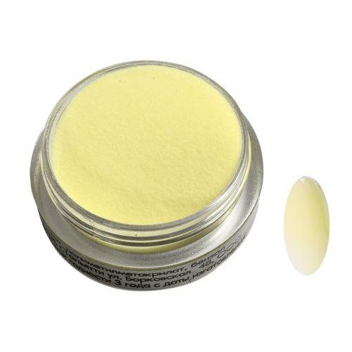 Акриловая пудра цветная №160 (желтая пастель) SOFIPROFI  2 гр